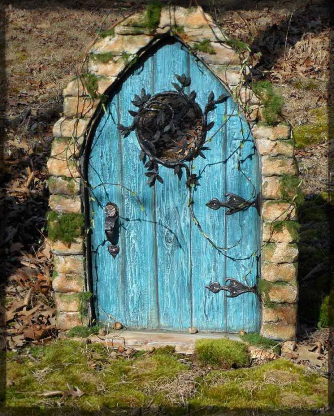 Faux-Fantasie-Tür