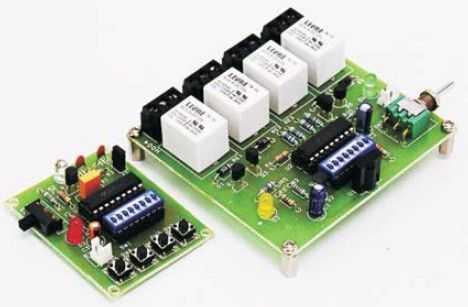 Wireless Funk Modul mit PIC-Mikrocontroller.