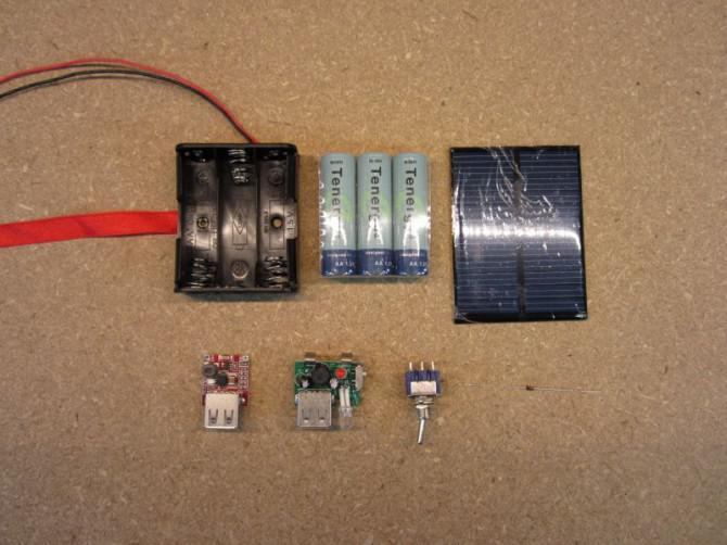 Solar Charger USB 2.0