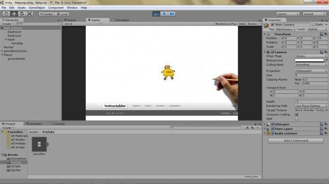 Machen Sie ein 2D-Videospiel mit Unity