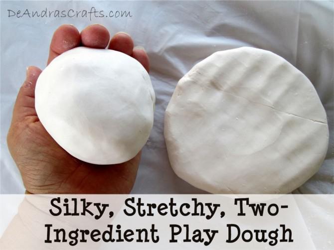 Silky, dehnbar, Conditioner und Maisstärke Knete
