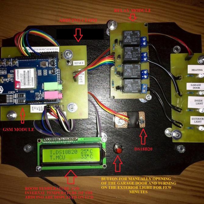 Hausautomation mit Arduino und SIM900 GSM-Modul