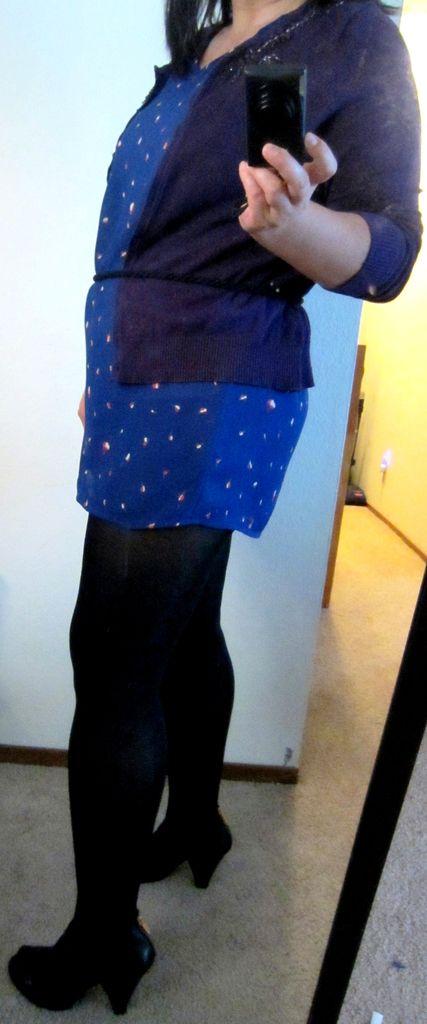 Relove eine alte, hässliche Kleid: vor und nach (w / Bonus Infinity-Schal)