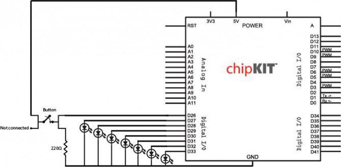 3D Printed Mikrocontroller Dice Roller