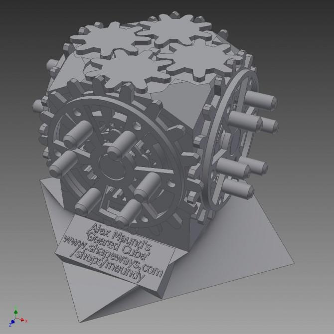 """3D-Druck """"Kreisel Puzzle Box '- mit einem Spin gelöst ..."""