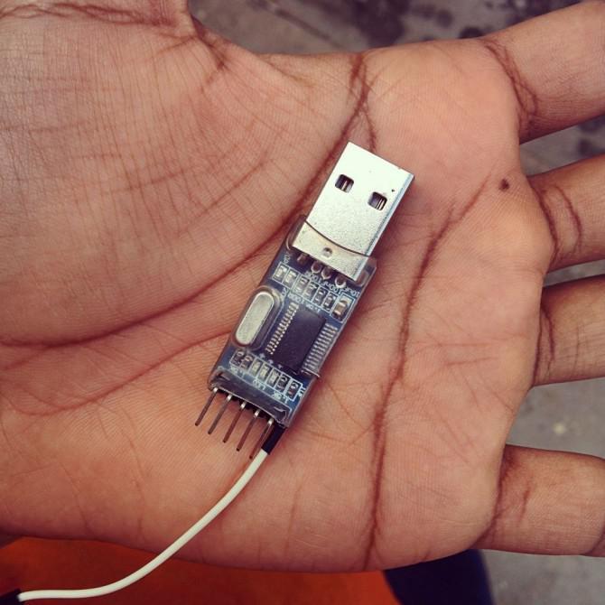 Hinzufügen von Auto-Reset Pin auf der Grundlage PL2303 Serial USB-Module