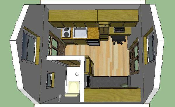 Off-Grid Stealth Cabin Pläne