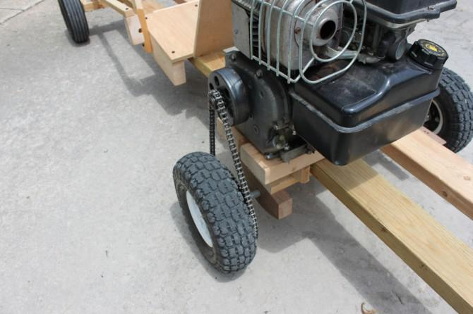 Homemake Wooden GoKart 2.0